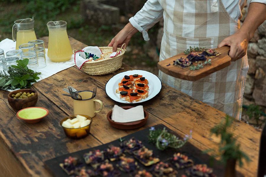 Mallorcan appetizer